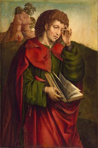 Colijn de CoterSaint John the Evangelist Weeping. Image reproduced from Wikicommons