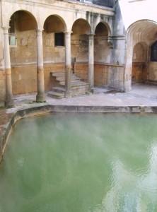 Baths at Bath: copyright Jennifer Evans