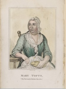 L0050104 Mary Tofts, a woman who pretended that she had given birth