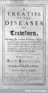L0029397 B. Ramazzini, A treatise of the diseases of tradesmen...